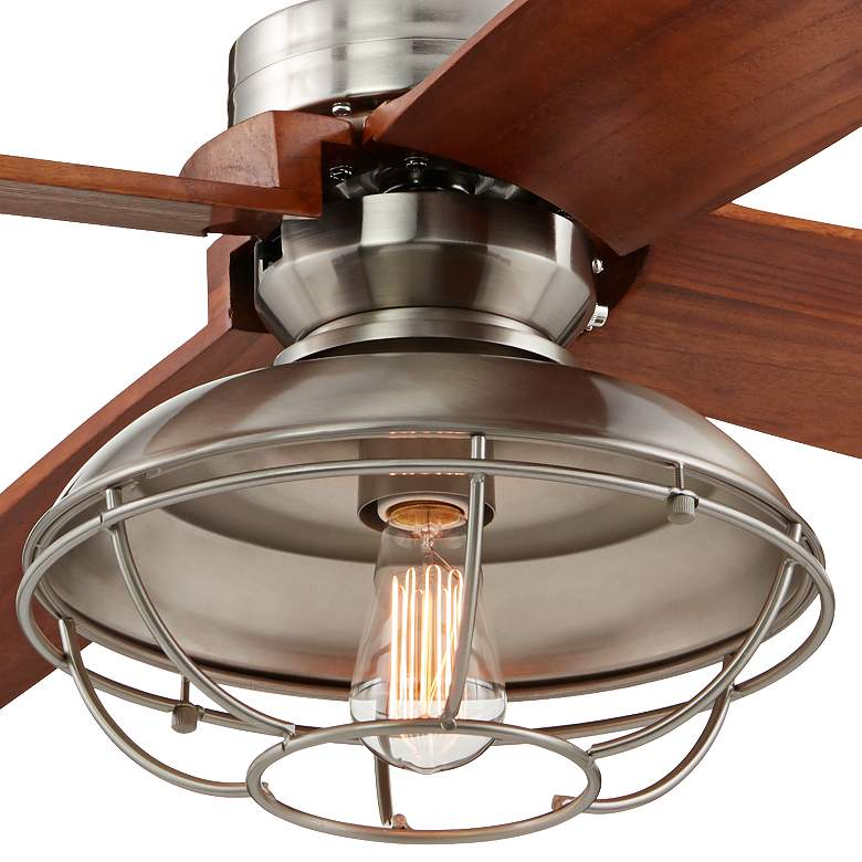 "52"" Insite™ Brushed Nickel  LED Ceiling Fan more views"