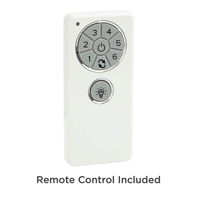 "72"" Turbina XL DC Brushed Nickel LED Ceiling Fan more views"