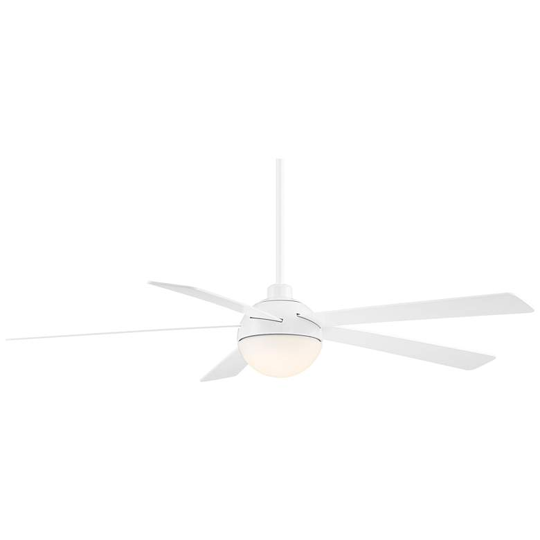 "60"" Casa Odessa™ White Damp Rated LED Ceiling Fan more views"