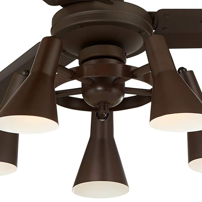 "60"" Casa Vieja Turbina AC Oil-Rubbed Bronze LED Ceiling Fan more views"