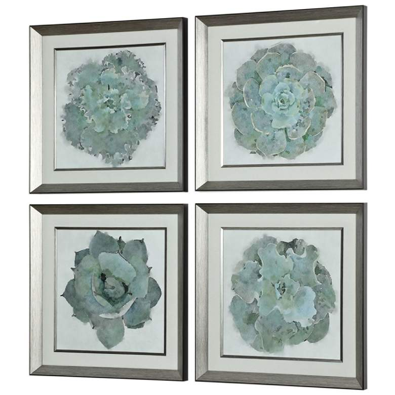"Natural Beauties 22 1/4"" Square 4-Piece Framed Wall Art Set more views"