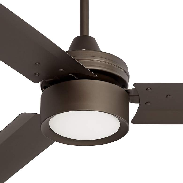 "52"" Casa Arcus Emperial Bronze LED Ceiling Fan more views"