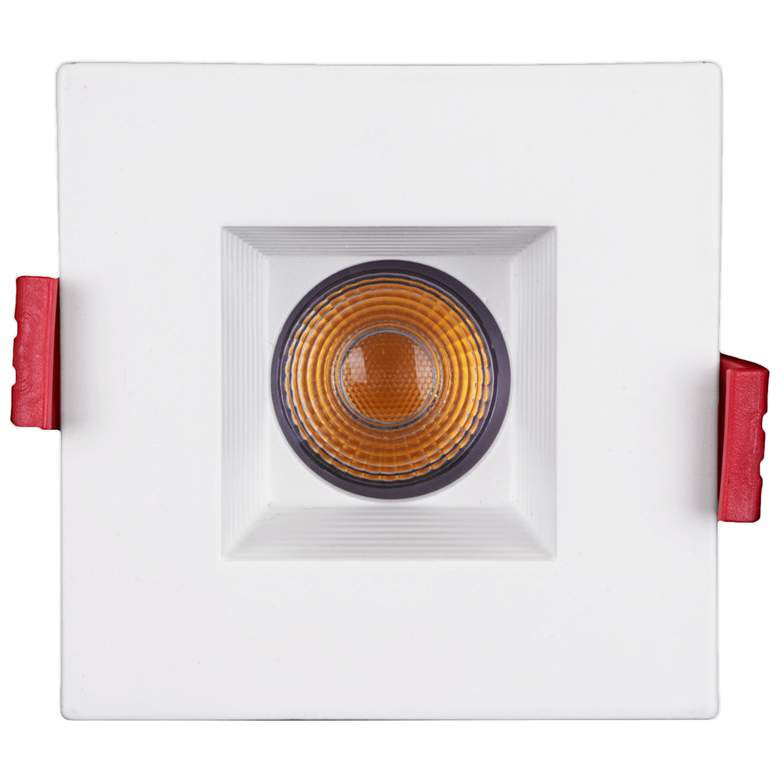 "Nicor 2"" Square White Residential LED Recessed Downlight more views"