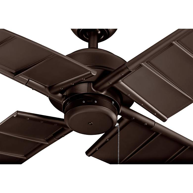 "60"" Kichler Surrey Climates Satin Natural Bronze Ceiling Fan more views"
