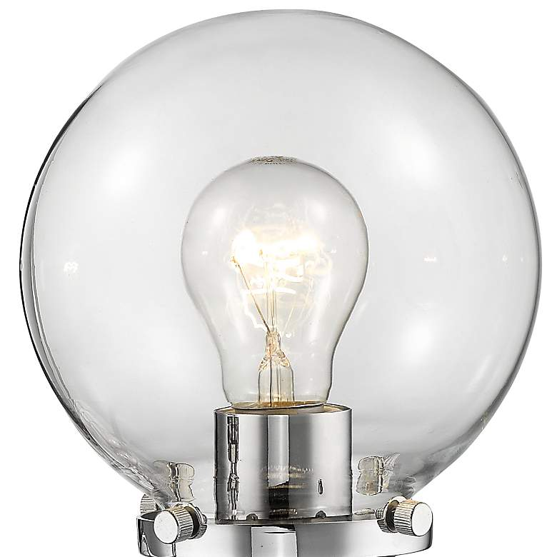 "Beacon 11"" High Glass Globe Wall Sconce more views"