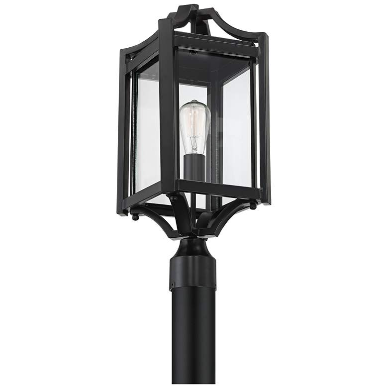 "Rockford Collection 20 1/4"" High Black Outdoor Post Light more views"