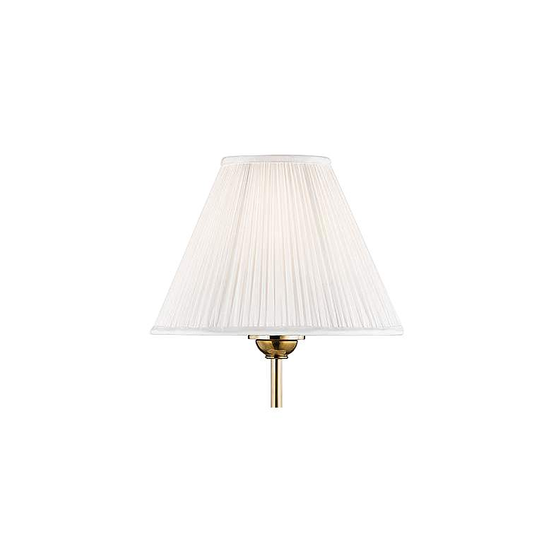 Classic No.1 Aged Brass Adjustable Table Lamp more views