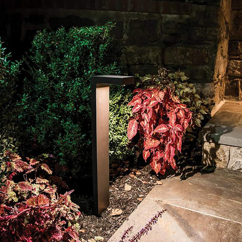 "WAC Ledge 23"" High Bronze 3000K LED Landscape Path Light more views"
