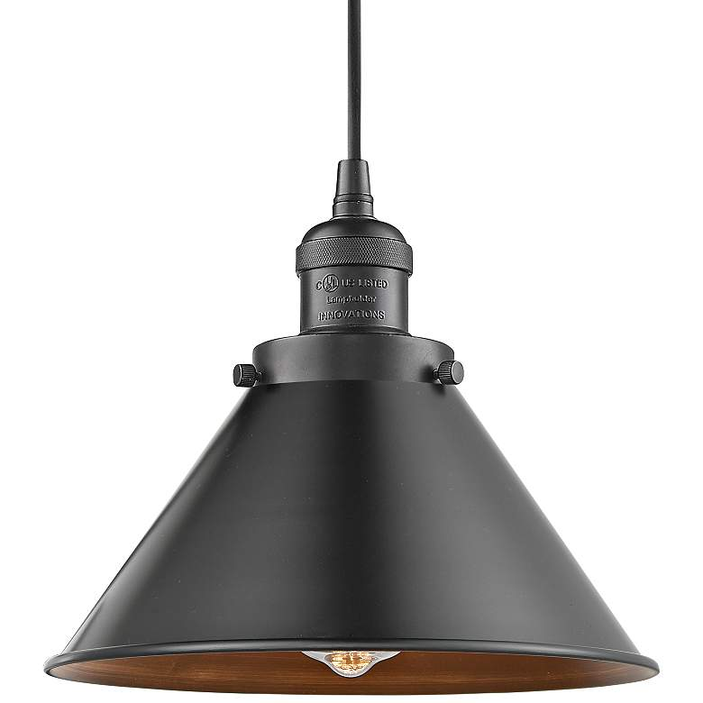 "Briarcliff 10"" Wide Oil-Rubbed Bronze Mini Pendant more views"