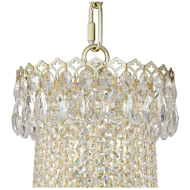 Schonbek Camelot Gold and Crystal 41-Light Large Chandelier more views