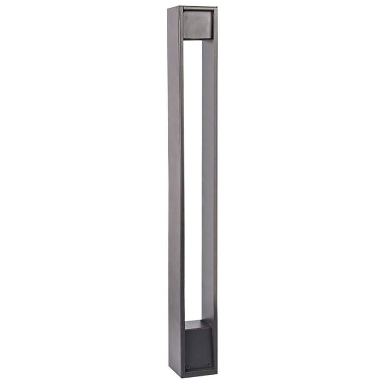 "WAC Gate 27"" High Bronze 2700K LED Bollard Landscape Light more views"