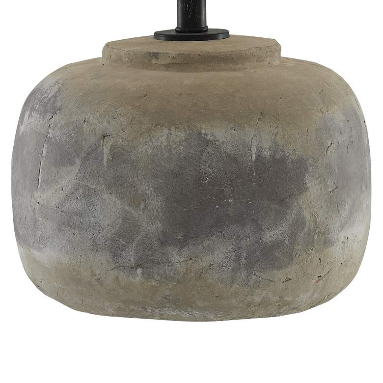 Currey and Company Beton Antique Earth Accent Table Lamp more views