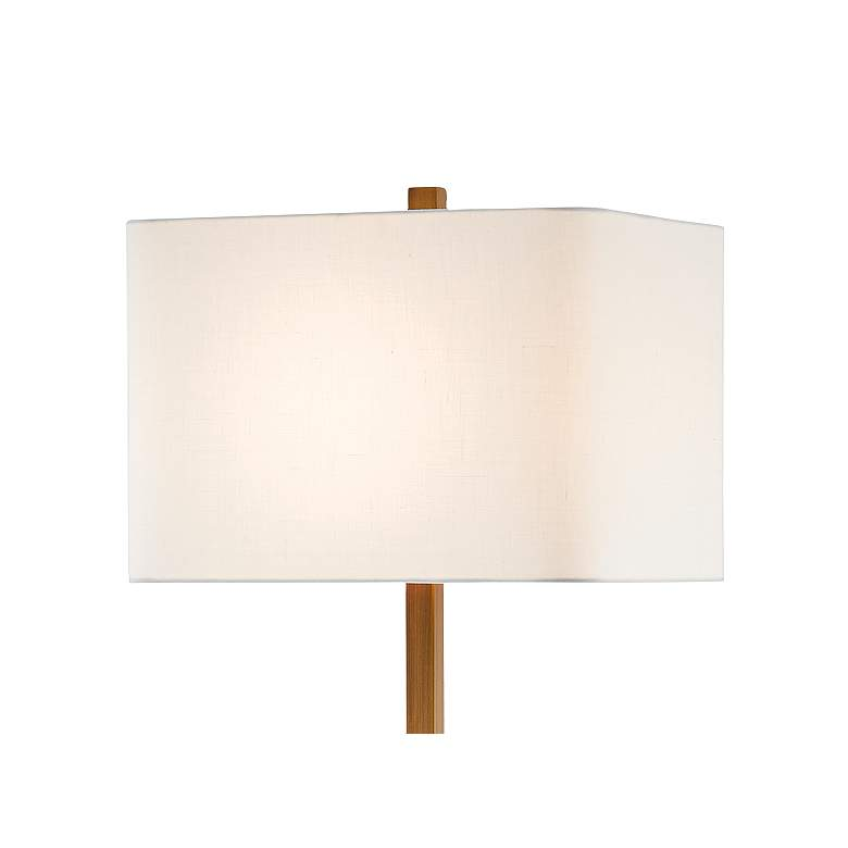 Recap Natural And Antique Brass Floor Lamp W Alabaster
