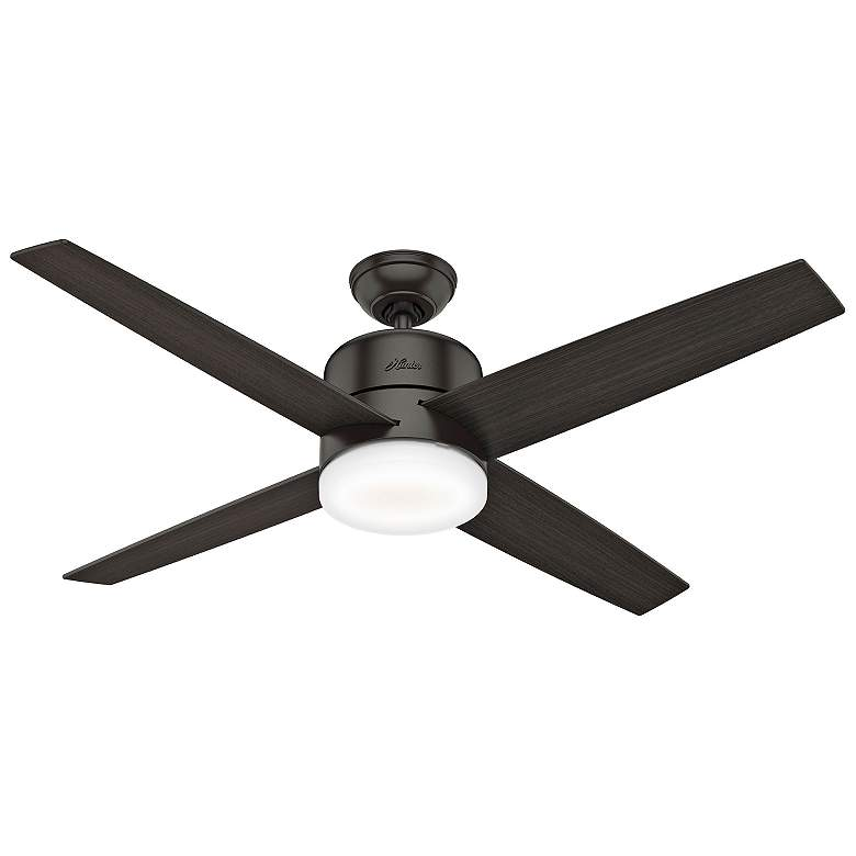 "54"" Hunter Advocate Noble Bronze LED Ceiling Fan more views"