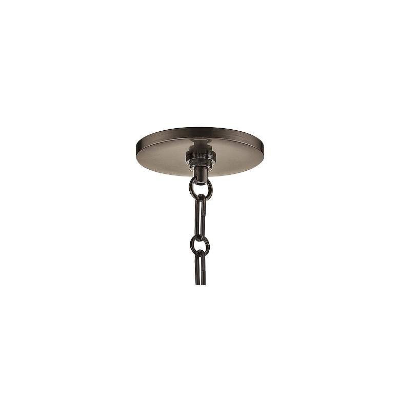 "Ivy 12 1/2"" Wide Old Bronze LED Pendant Light w/ Clear Glass more views"