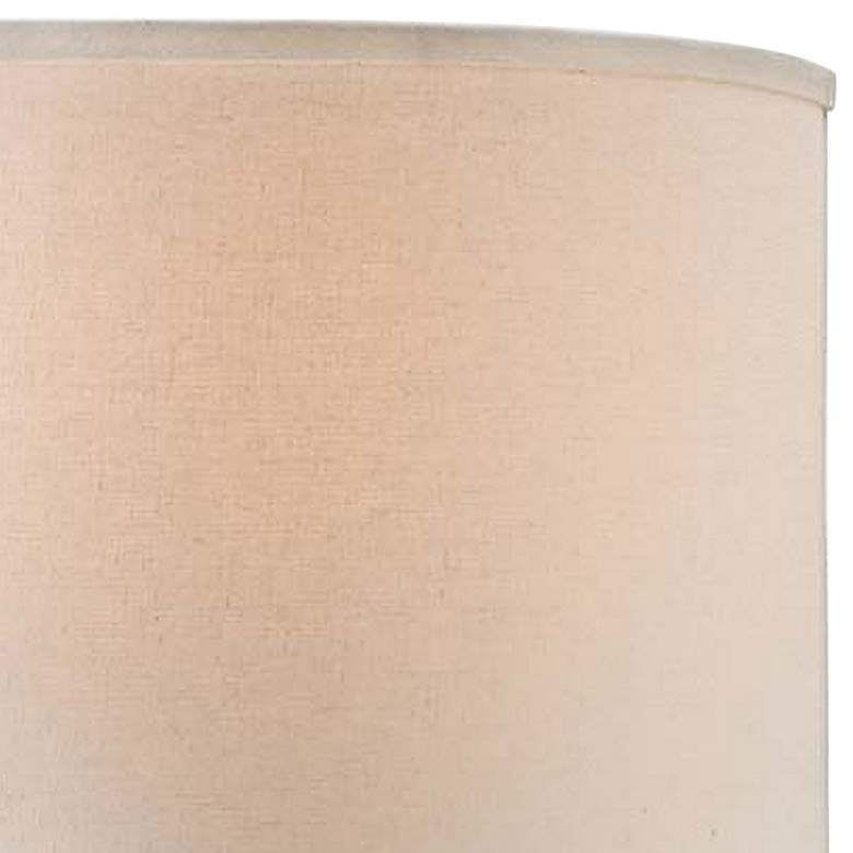 Patina Verde Ceramic Accent Table Lamp with Off-White Shade more views