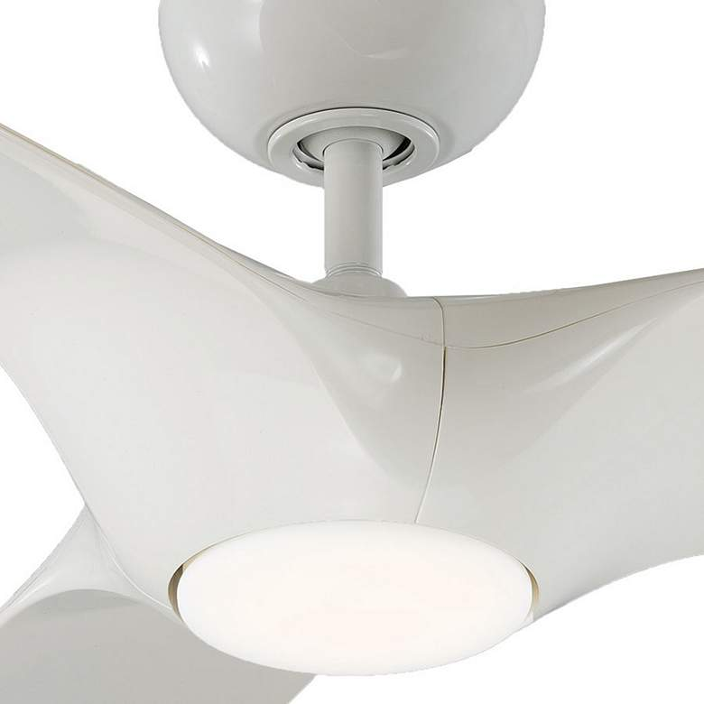 "60"" Modern Forms Morpheus III White LED Wet Ceiling Fan more views"