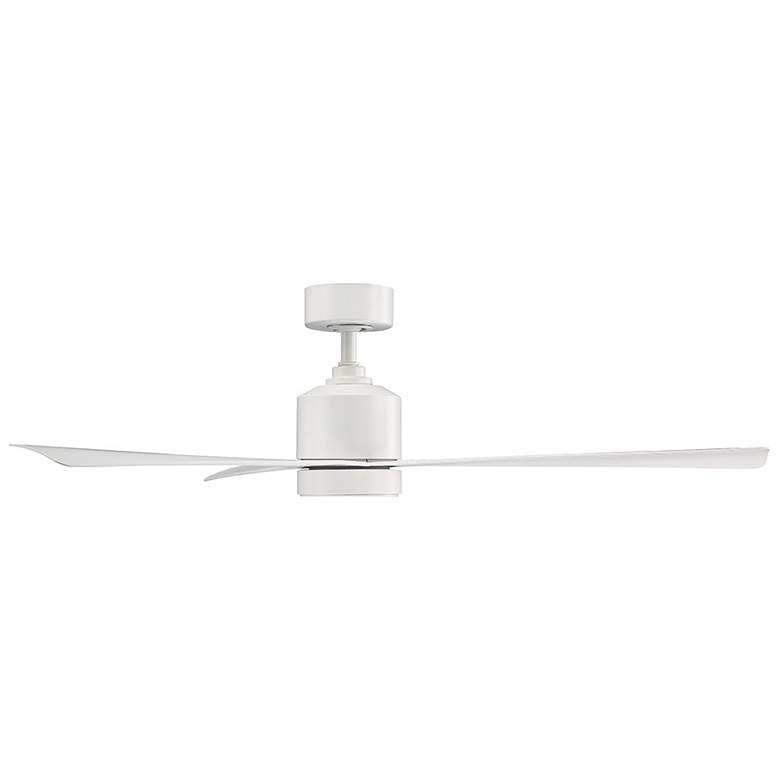 "54"" Modern Forms Lotus Matte White LED Wet Ceiling Fan more views"