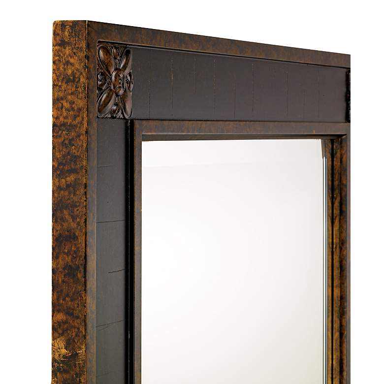 "Uttermost Bergamo Chestnut Brown 28"" x 38"" Wall Mirror more views"