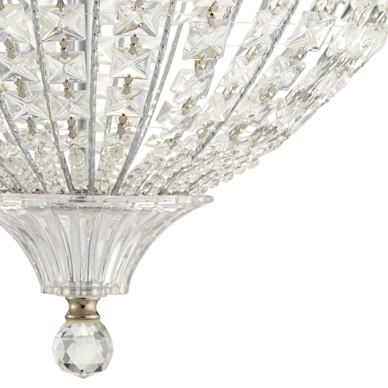"Marisse 14 1/2"" Wide 3-Light Crystal Ceiling Light more views"