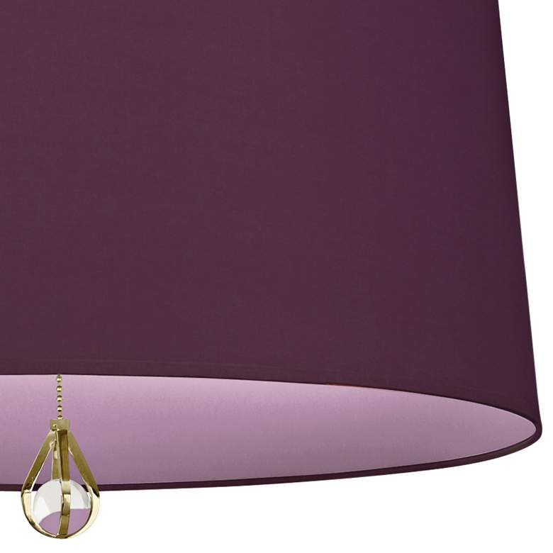 "Custis Collection 25 1/2""W Grape and Ludwell Lilac Pendant more views"