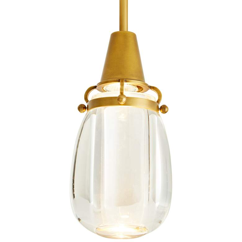 "Arteriors Home Pena 6"" Wide Clear Crystal Mini Pendant more views"