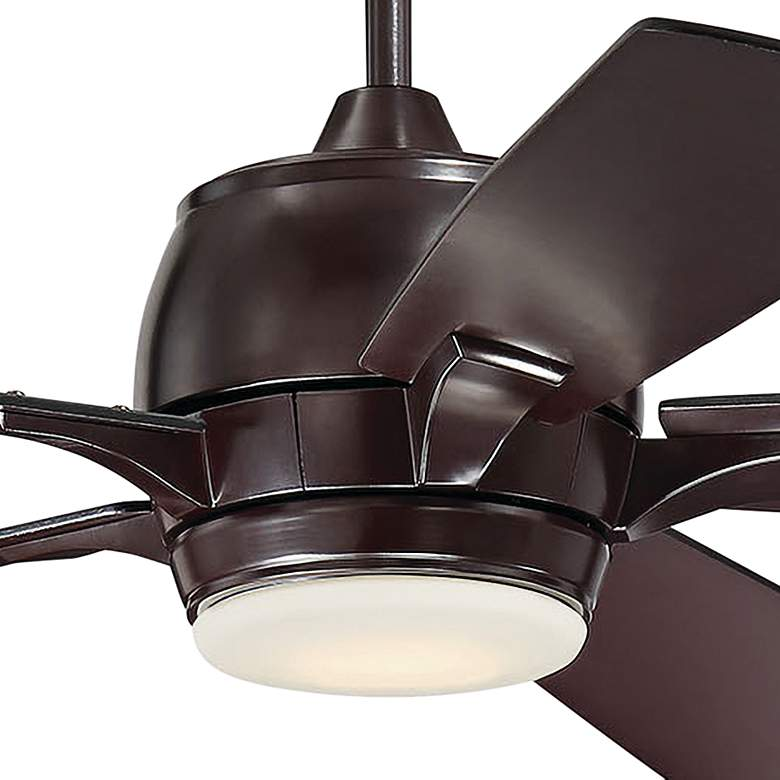 "52"" Craftmade Stellar Oiled Bronze LED Ceiling Fan more views"