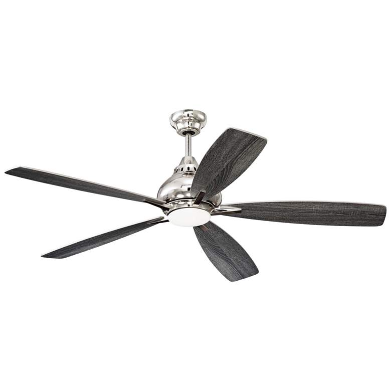 "52"" Craftmade Swyft Polished Nickel LED Ceiling Fan more views"