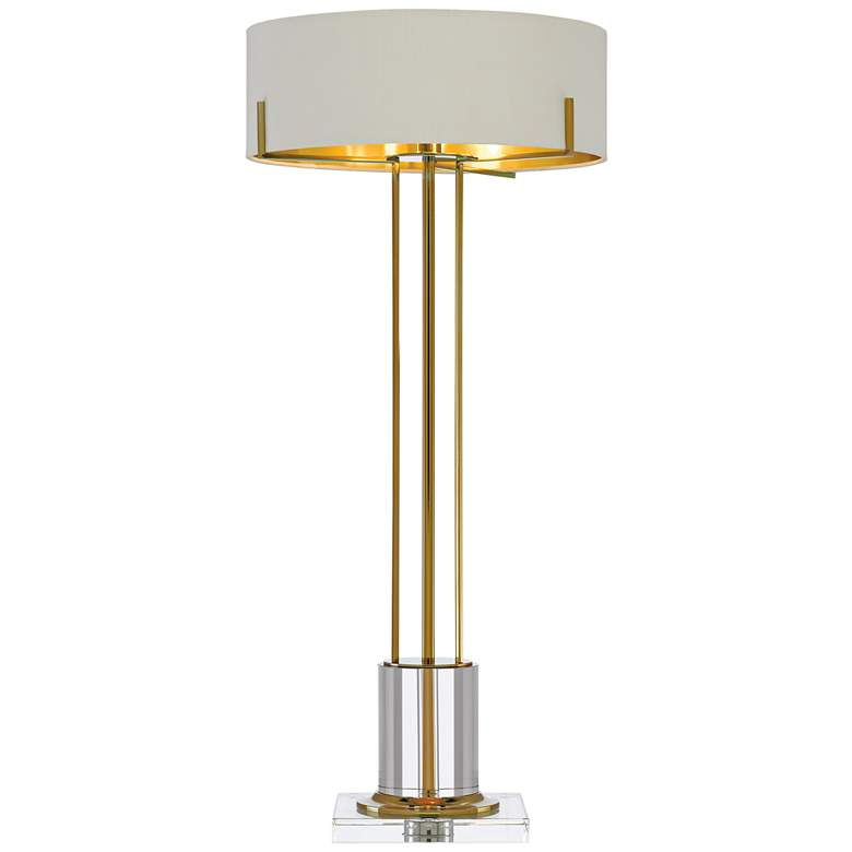 Currey and Company Winsland Polished Brass LED Table Lamp more views