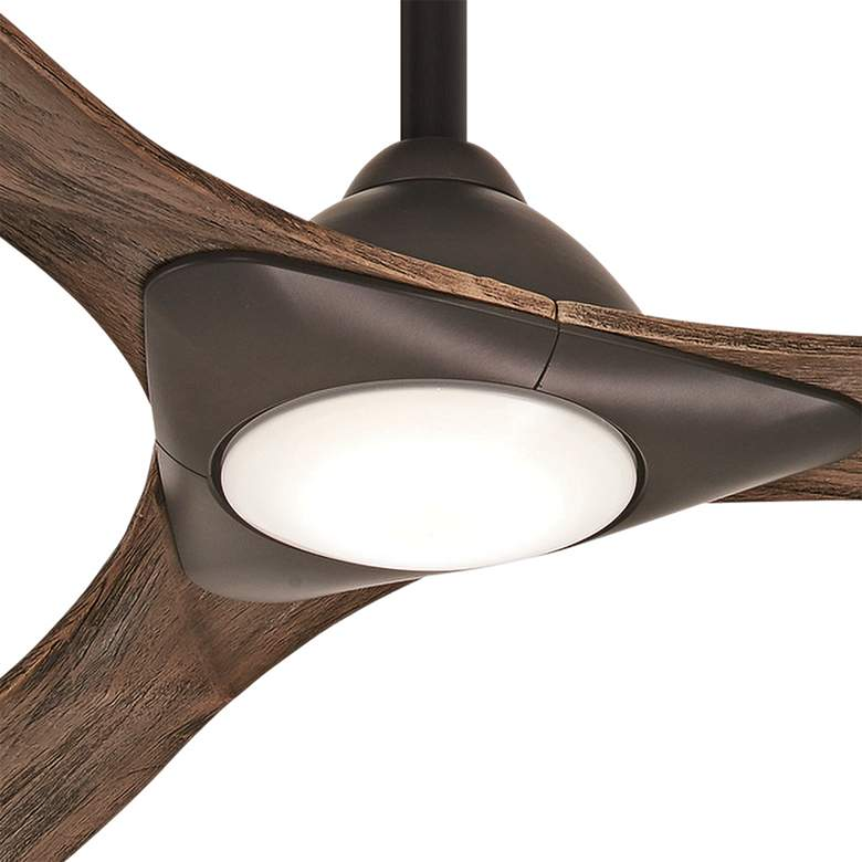 "60"" Minka Aire Sleek Oil Rubbed Bronze LED Smart Ceiling Fan more views"