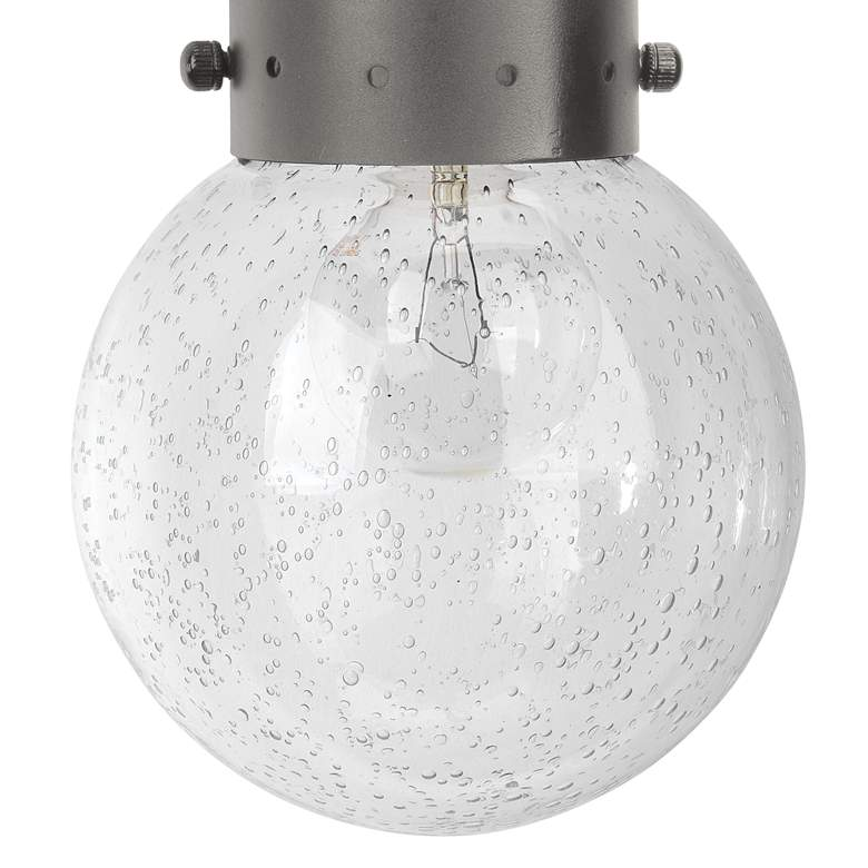 "Jamie Young Strada 14"" High Gun Metal Pendant Wall Sconce more views"