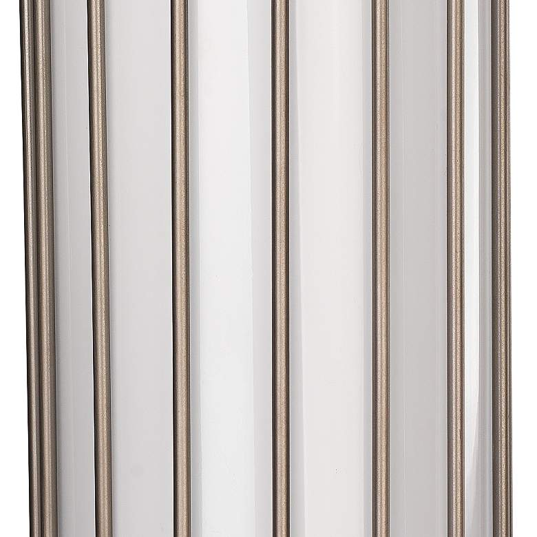 "Jamie Young Torino 17"" High Gun Metal Cylinder Wall Sconce more views"
