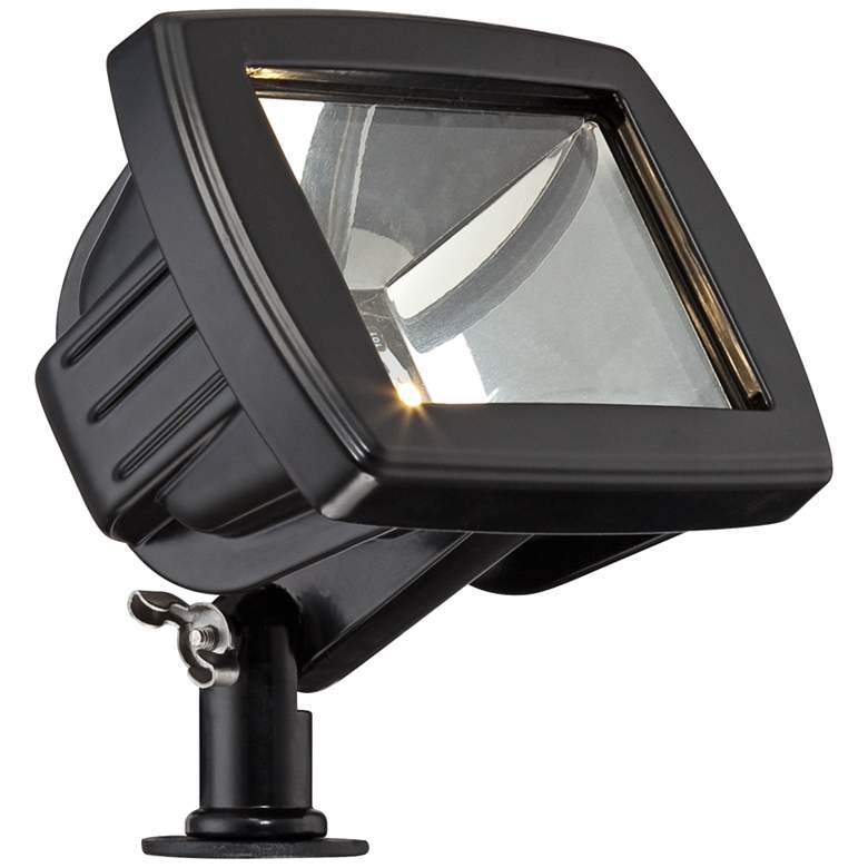 Sleator Textured Black 8-Piece LED Path and Flood Light Set more views