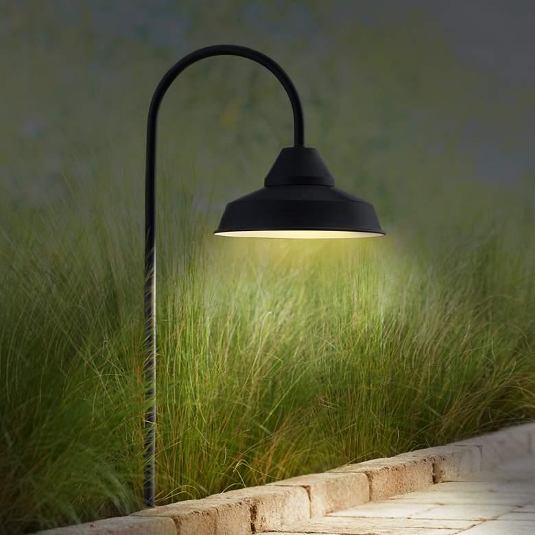 Westley Black 8-Piece LED Landscape Path and Spot Light Set more views