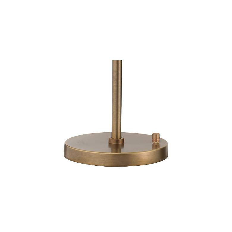 Jamie Young Pisa Antique Brass 2-Directional Desk Lamp more views
