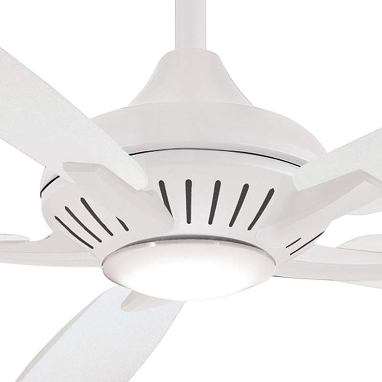 "60"" Minka Aire Dyno XL Smart Fan White LED Ceiling Fan more views"