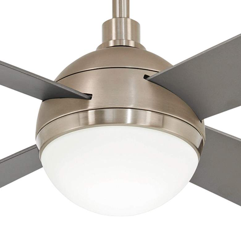"54"" Minka Aire Orb Brushed Steel LED Ceiling Fan more views"