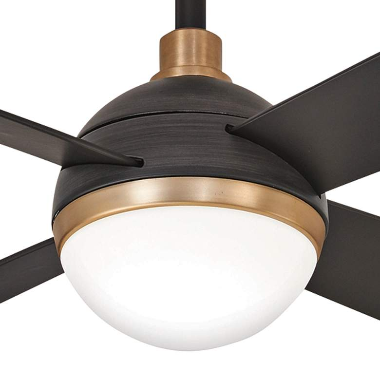 "54"" Minka Aire Orb Brushed Carbon LED Ceiling Fan more views"