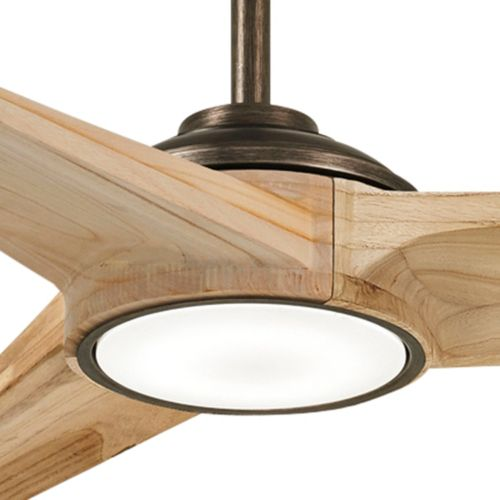 "68"" Minka Aire Timber Smart Fan Maple LED Ceiling Fan"
