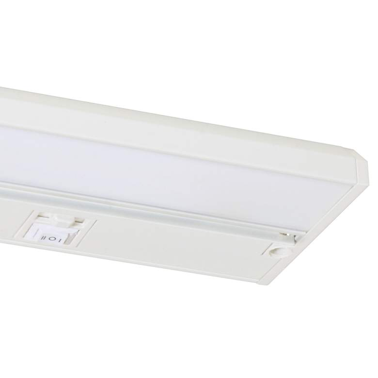 "Koren 9"" Wide White LED Under Cabinet Light more views"