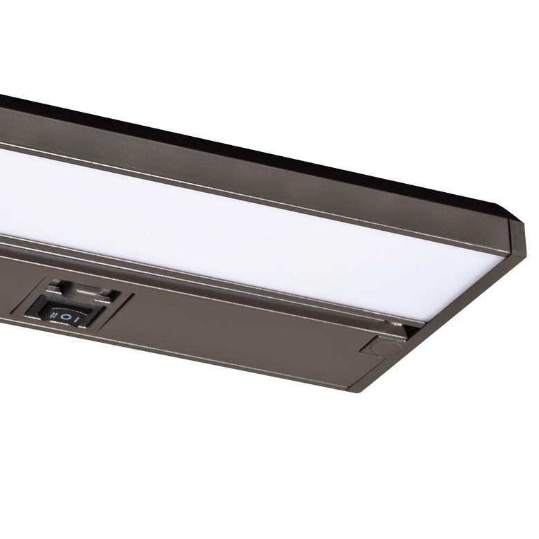 "Koren 9"" Wide Oil-Rubbed Bronze LED Under Cabinet Light more views"