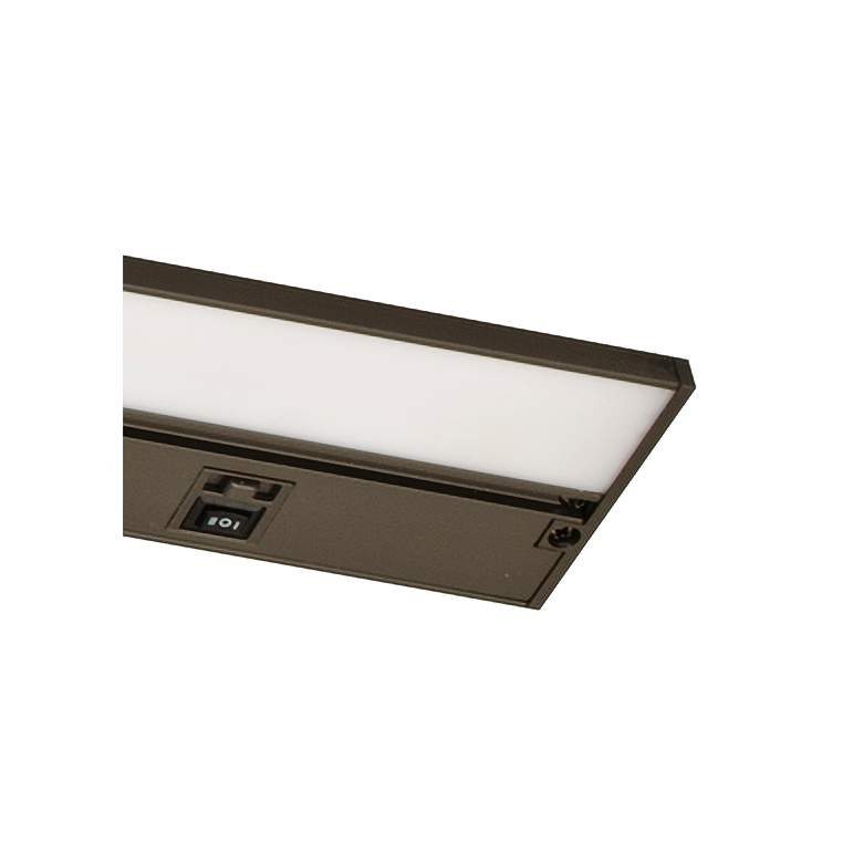 "Koren 32"" Wide Oil-Rubbed Bronze LED Under Cabinet Light more views"