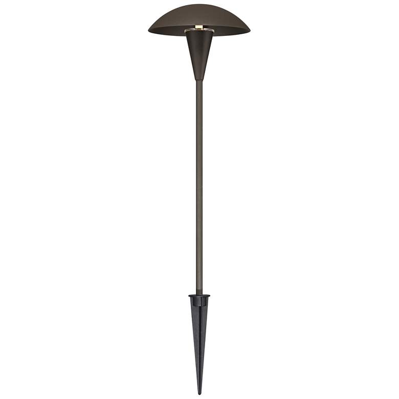 Mushroom Bronze 6-Piece LED Landscape Path Light Set more views