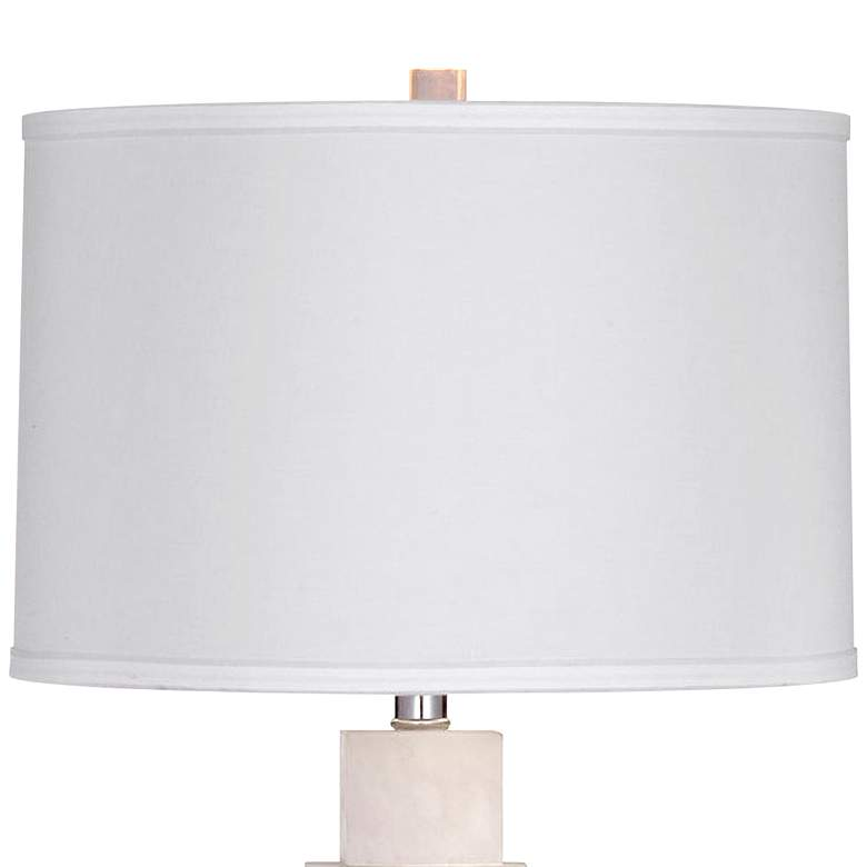Thoroughly Modern Presidio Alabaster Stone LED Table Lamp more views
