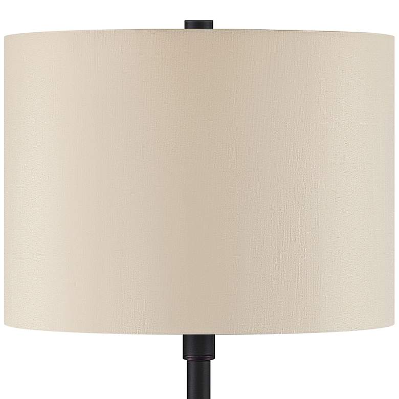 Lola Oil-Rubbed Bronze Table Lamp with Base Utility Plug more views