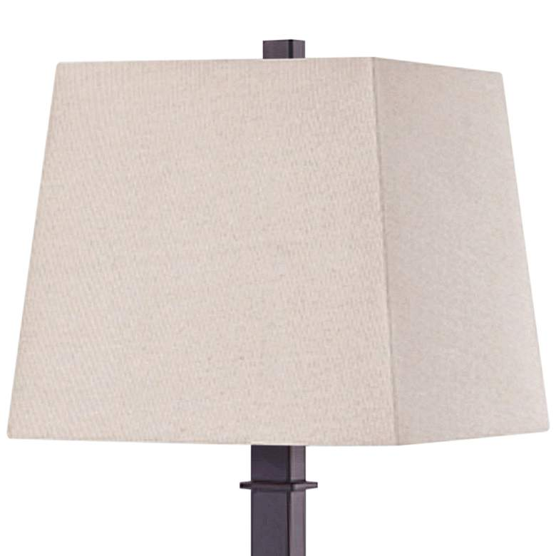 Madison Oil-Rubbed Bronze Table Lamp with Base Utility Plug more views