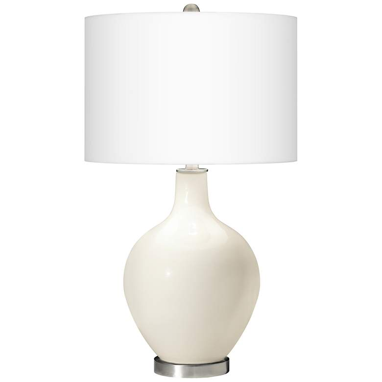 West Highland White Ovo Table Lamp with USB Workstation Base more views