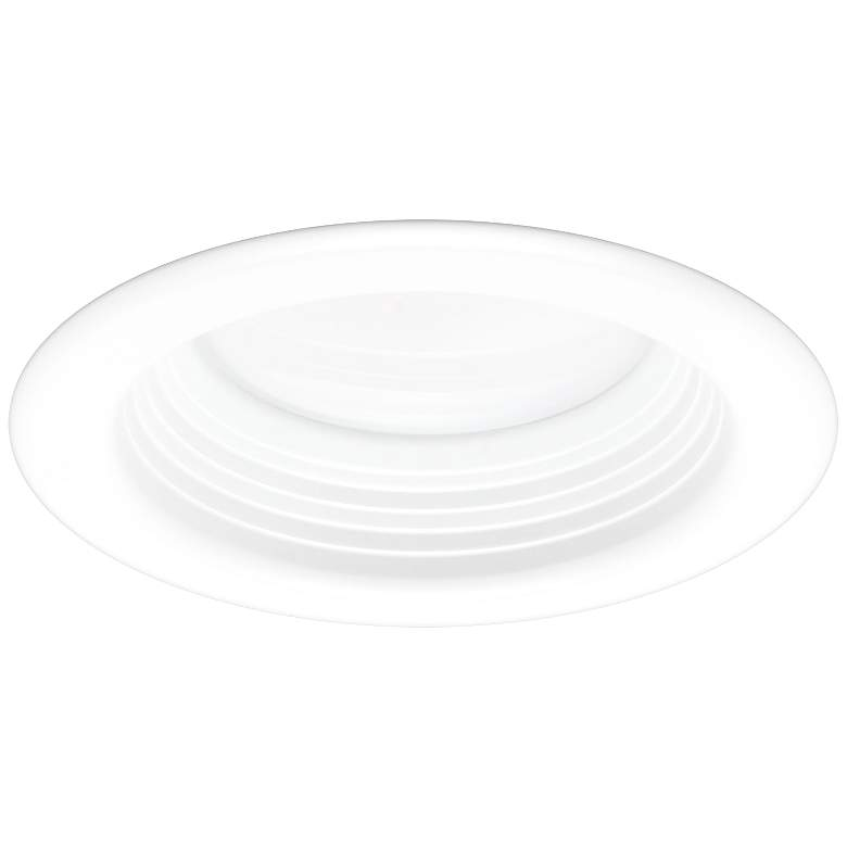 "LED Advantage 4"" White Baffle Retrofit Downlight Set of 12 more views"