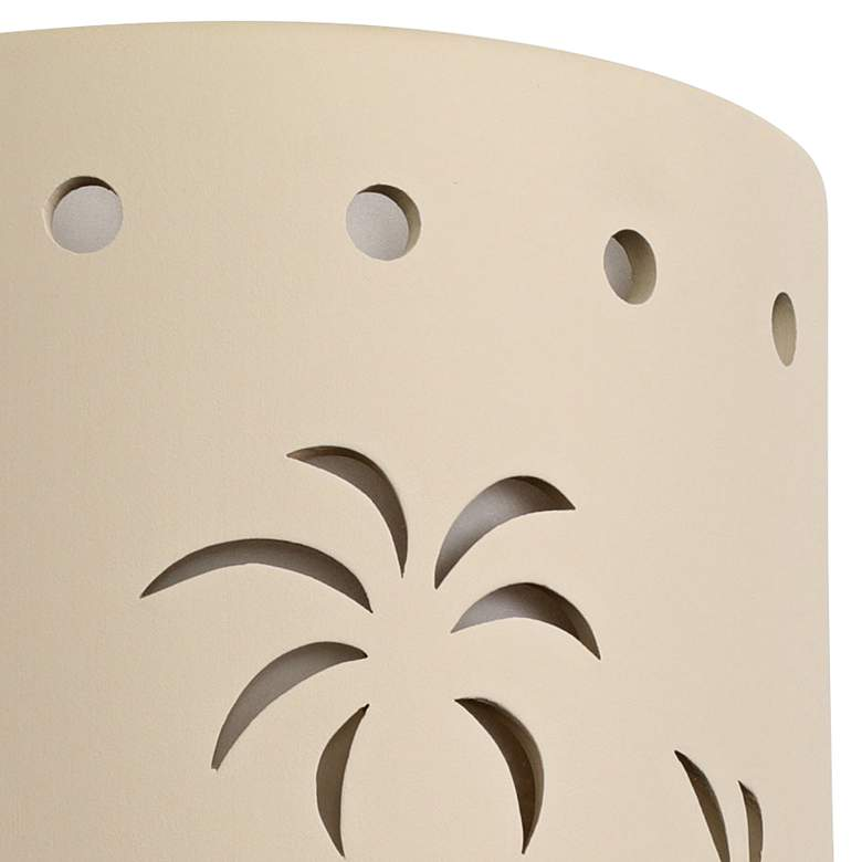 "Mirage Flats 13"" High Cottonwood Ceramic Outdoor Wall Light more views"