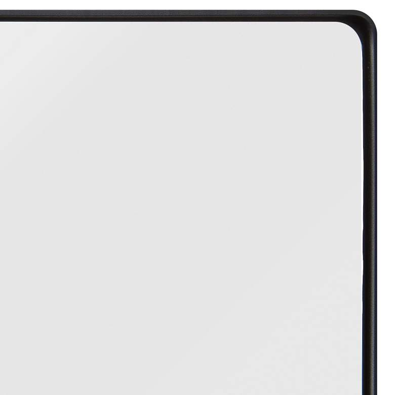 "Varaluz Casa Kye Blk 22"" x 40"" Rectangular Wall Mirror more views"